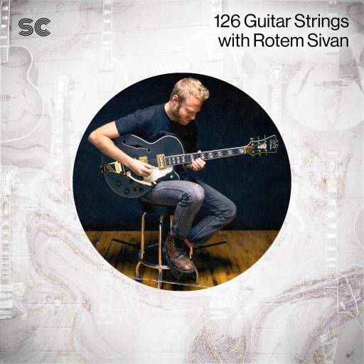 126 Guitar Strings Samples WAV MiDi