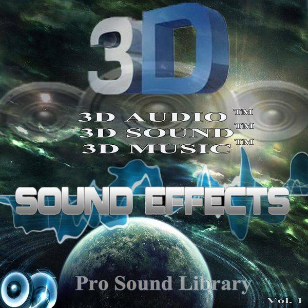 3D Sound Effects Vol.1-4 REMASTERED FLAC
