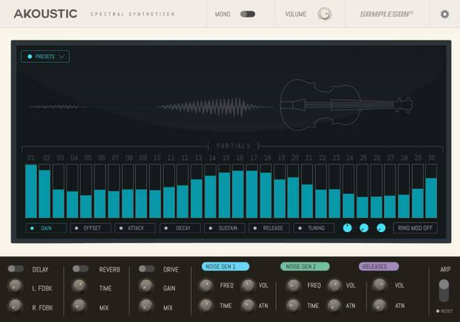 Akoustic Spectral Synthesizer v1.1.0 WiN MAC