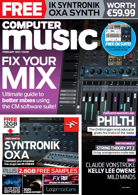 Computer Music 291 February 2021 DVD CONTENT