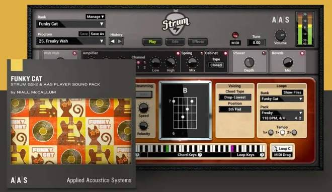 Funky Cat GS-2 SOUNDPACK MERRY XMAS-SYNTHiC4TE