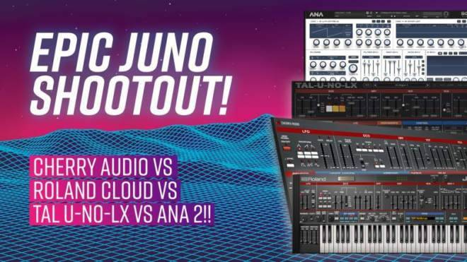 Juno Shootout TUTORiAL-SYNTHiC4TE