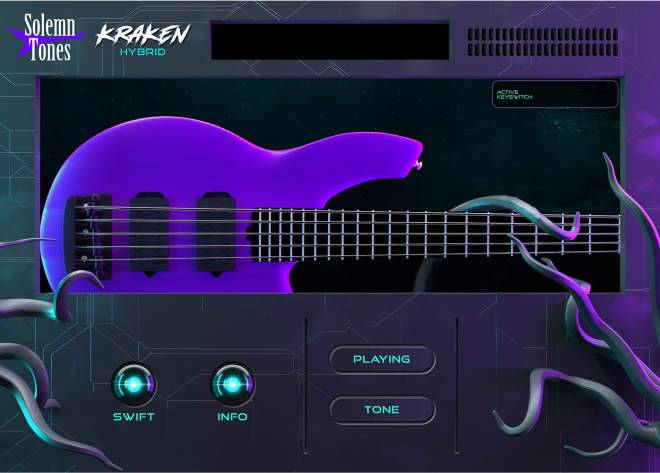 Kraken Hybrid Bass WiN MAC-DECiBEL