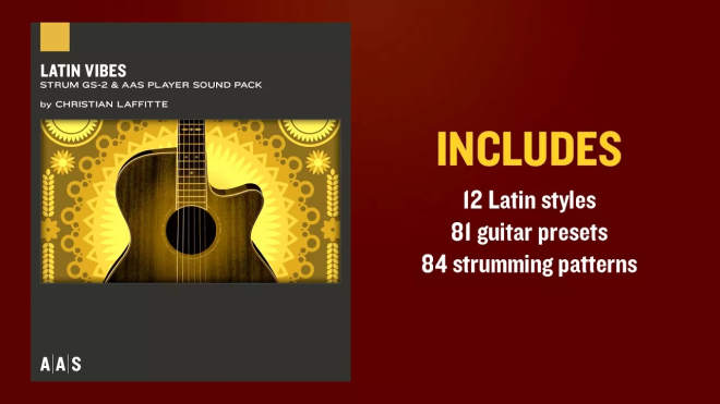 Latin Vibes GS-2 SOUNDPACK MERRY XMAS-SYNTHiC4TE