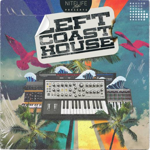 Left Coast House WAV SAMPLES