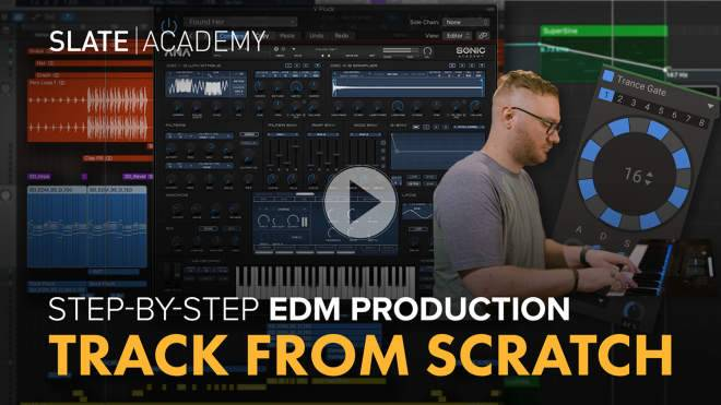 Masterclass: EDM Track From Scratch TUTORiAL
