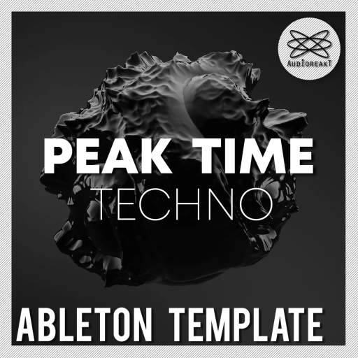 Peak Time Techno ABLETON TEMPLATE-DECiBEL