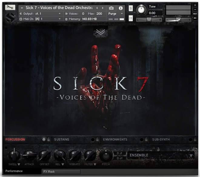 Sick 7 Voices Of The Dead KONTAKT