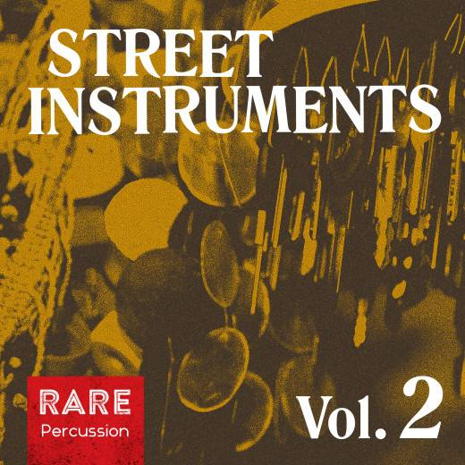 World Percussion Street Instruments Vol.2 WAV