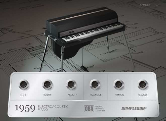 1959 v1.0.0 Electro-Acoustic Piano WiN MAC