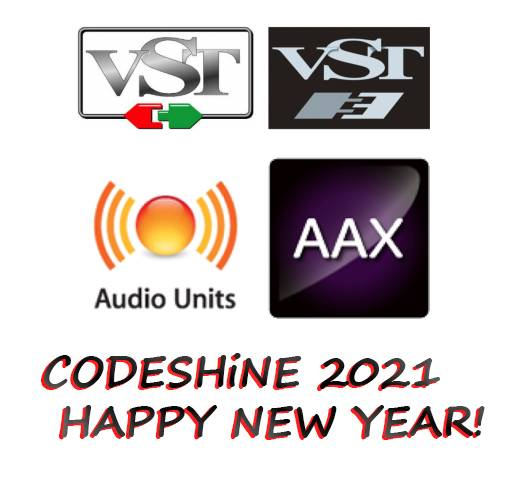 2021 PLUGiNS BUNDLE HAPPY NEW YEAR macOS-CODESHiNE
