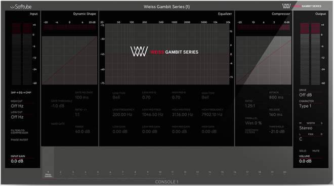 Console 1 Weiss Gambit Series v2.5.9 WiN-R2R