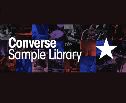 Converse Samples Collection WAV