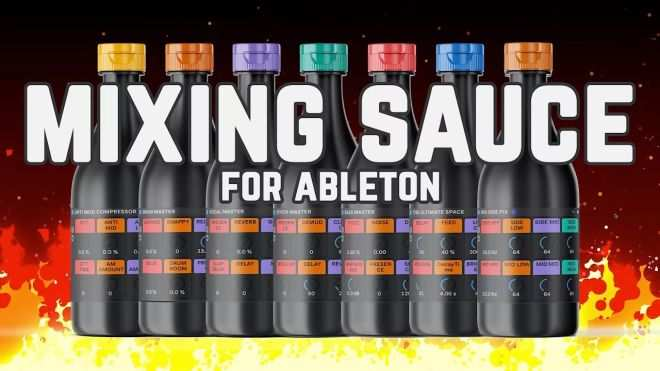 MiXiNG SAUCE For ABLETON-FANTASTiC