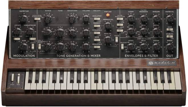 Model 72 Synthesizer System v2.5.9 WiN-R2R