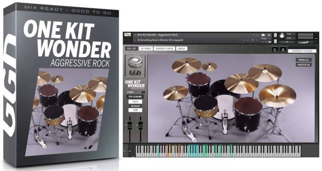 One Kit Wonder Aggressive Rock v1.0.0 KONTAKT