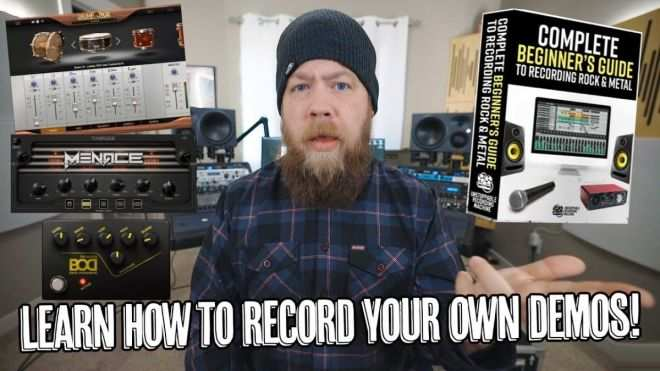Complete Beginners Guide to Recording Rock And Metal