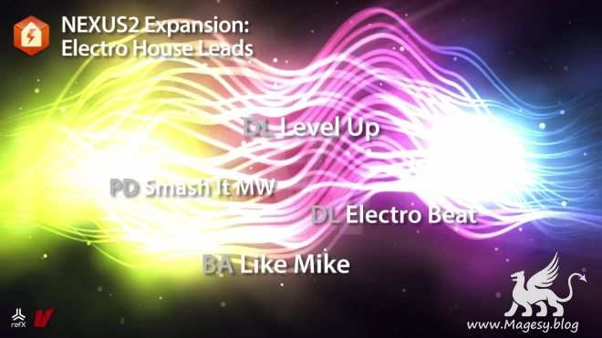 Electro House Leads XP NEXUS 3 EXPANSiON