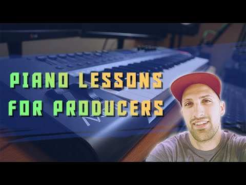 Piano Lessons For Producers TUTORiAL