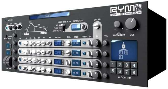 RYM2612 v1.0.5 FM Synthesizer WiN MAC