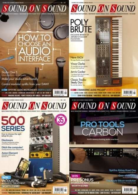 Sound On Sound September-December ISSUES 2020 PDF-DECiBEL