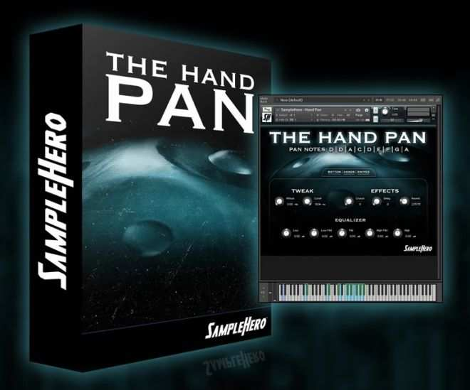 The Hand Pan KONTAKT-DECiBEL