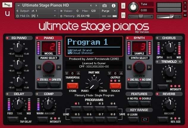 Ultimate Stage Pianos HD KONTAKT