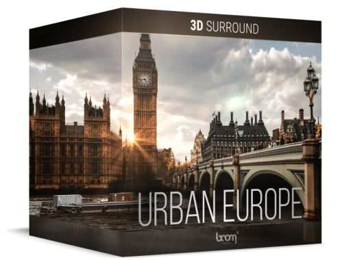 Urban Europe Sound Effects WAV