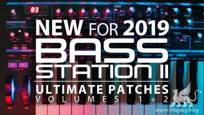 Novation Bass Station II PATCHES SYX