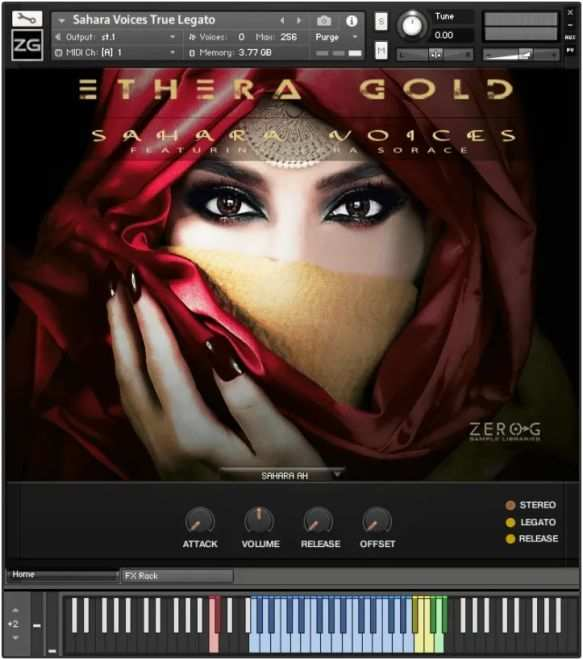 ETHERA Gold: Sahara Voices KONTAKT