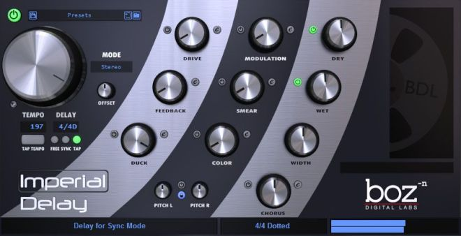 Imperial Delay v1.5.11 VST2 VST3 x86 x64 WiN