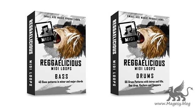 ReggaeLicious Bass And Drums MiDi