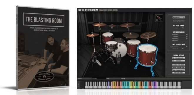 Blasting Room Signature Series Drums v1.1 KONTAKT-DECiBEL