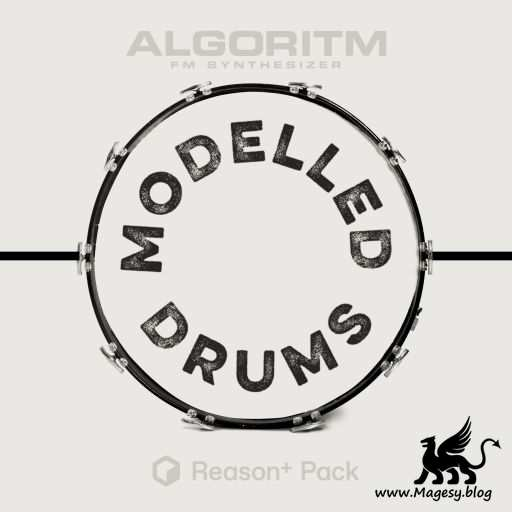 Modelled Drums For ALGORiTM REASON 11