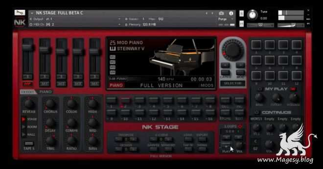 NK Stage Full Version KONTAKT