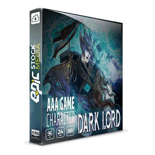 AAA Game Character: Dark Lord WAV-DiSCOVER