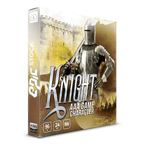 AAA Game Character: Knight WAV-DiSCOVER