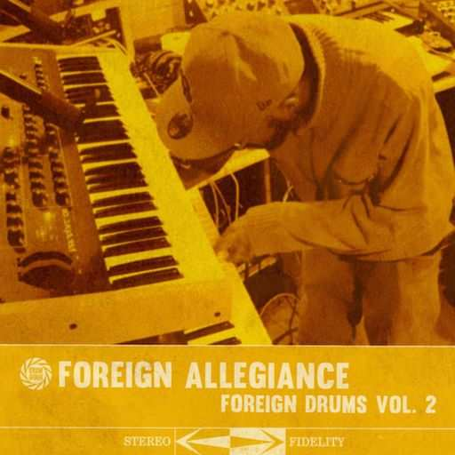 Foreign Drums 2 WAV