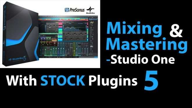 Mixing And Mastering Studio One