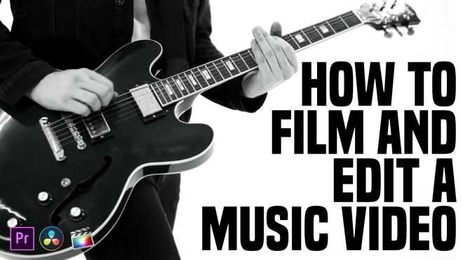 How to Film And Edit a Music Video TUTORiAL