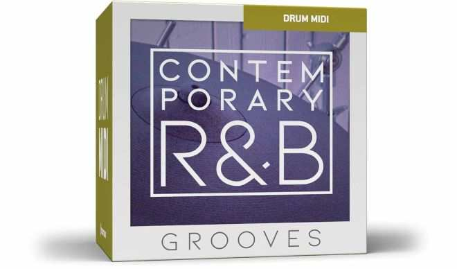 Contemporary RnB Grooves MiDi PACK