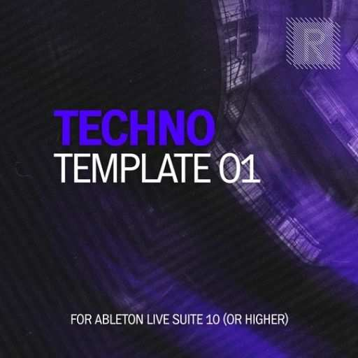 Techno 01 Template For ABLETON LiVE