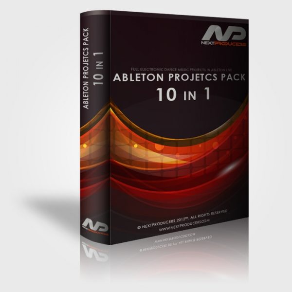 Ableton Projects Pack 10 in 1 MAGNETRiXX | Images From Magesy® R Evolution™