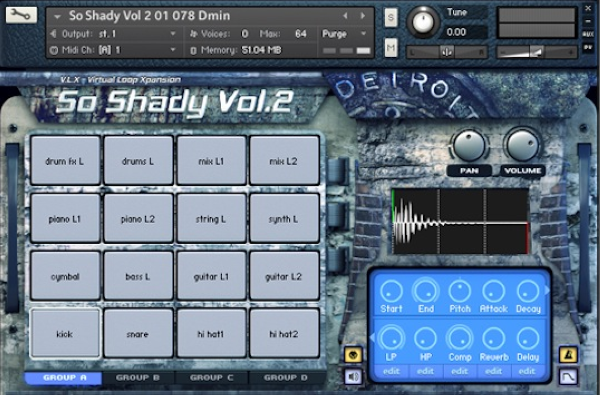 So Shady Vol.2 KONTAKT | Images From Magesy® R Evolution™