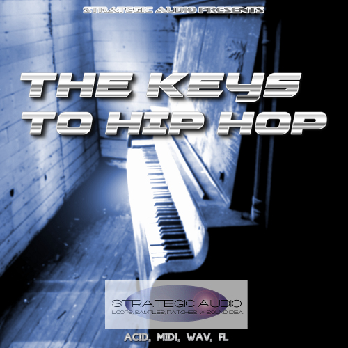 The Keys To Hip Hop WAV MiDi SF2 FLP AUDiOSTRiKE | Images From Magesy® R Evolution™
