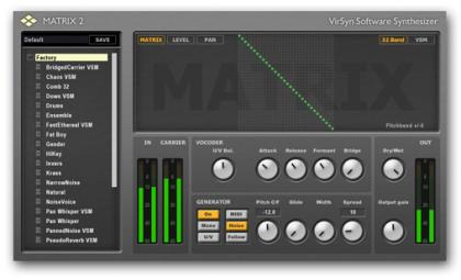 VirSyn Matrix v2.1.0 VST RTAS x86 x64 ASSiGN | Images From Magesy® R Evolution™