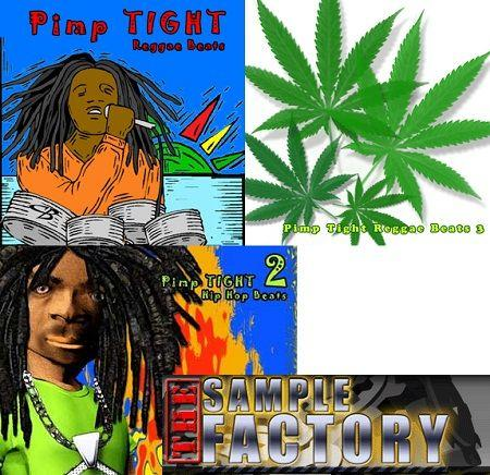Sample Factory Pimp Tight Reggae Beats Vol.1 to Vol.3 AIFF REX2 WAV | Images From Magesy® R Evolution™