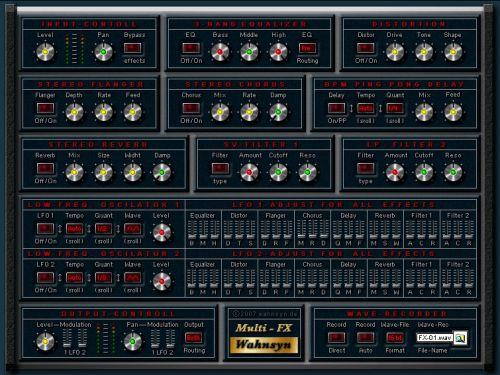 Wahnsyn Multi Fx VST v1.0 peace out | Images From Magesy® R Evolution™