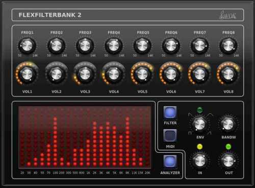 WOK Flexfilterbank v2.1 VST x86 WiN ST3RE0 | Images From Magesy® R Evolution™