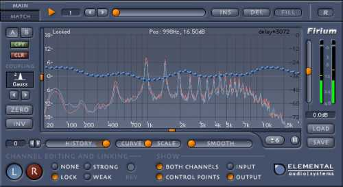 Elemental Audio Firium Linear Phase EQ Plugin VST RTAS v2.1 H2O | Images From Magesy® R Evolution™